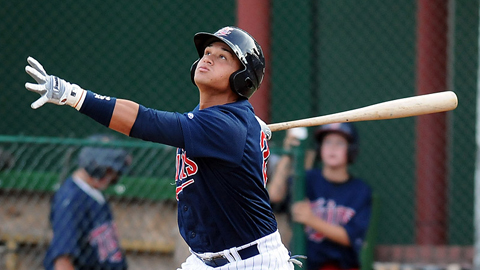 Oswaldo Arcia led the Appy League with a .375 average over 64 games.