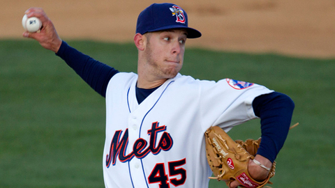Zack Wheeler has 13 strikeouts over nine innings in his first two starts.