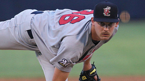Taylor Jungmann leads the Florida State League with 62 innings pitched.