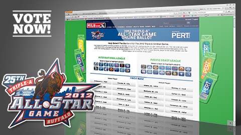 Compare stats and sort by your favorite team on the MiLB.com Triple-A All-Stat ballot!