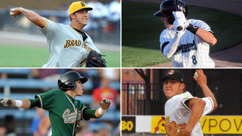 Yelich (Greensboro, Jupiter) and Taillon (West Virginia, Bradenton) have met two years running.