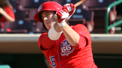 C.J. Cron has 25 homers and a Minor League-leading 121 RBIs this year.